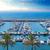 jachthaven · haven · hoog · middellandse · zee - stockfoto © lunamarina