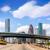houston skyline at gulf freeway i 45 texas us stock photo © lunamarina