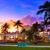 noche · vista · océano · unidad · Miami · playa - foto stock © lunamarina