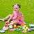 Kid · девушки · играет · продовольствие · игрушками - Сток-фото © lunamarina