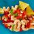 nachos · chips · mexicano · placa · azul · mesa · de · madera - foto stock © lunamarina