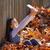 amerikaanse · boom · bladeren · vallen · textuur - stockfoto © lunamarina