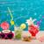kokosnoot · cocktails · sap · zeester · tropisch · strand · tropische - stockfoto © lunamarina