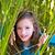 dziewczyna · mały · dzieci · patrząc · pokaż · zewnątrz - zdjęcia stock © lunamarina