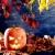 halloween · lanterna · abóbora · escuro · céu · nuvens - foto stock © lunamarina