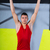 crossfit toes to bar young man pull ups 2 bars workout stock photo © lunamarina