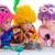 kinderen · verjaardagsfeest · clown · cake · kaarsen - stockfoto © lunamarina