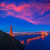 Golden · Gate · Bridge · San · Francisco · linha · do · horizonte · panorama · cidade - foto stock © lunamarina