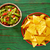 aguacate · tomates · nachos · comida · mexicana · restaurante · cena - foto stock © lunamarina
