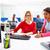 businesswomen team working at offce desk stock photo © lunamarina