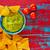 comida · mexicana · nachos · rojo · grunge · alimentos · restaurante - foto stock © lunamarina