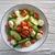 лосося · Салат · продовольствие · лист · зеленый · пластина - Сток-фото © lunamarina