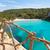 gibraltar · rocha · mediterrânico · mar · íngreme · penhasco - foto stock © lunamarina