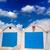 blauwe · hemel · middellandse · zee · witte · architectuur · detail · huis - stockfoto © lunamarina
