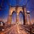 brooklyn bridge and manhattan new york city us stock photo © lunamarina