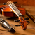 classic music violin and clarinet in vintage wood stock photo © lunamarina