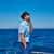 борода · моряк · человека · парусного · морем · лодка - Сток-фото © lunamarina