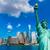declaración · estatua · libertad · Nueva · York · Nueva · York · cielo - foto stock © lunamarina