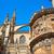 famoso · ponto · de · referência · palácio · Espanha · nuvens · edifício - foto stock © lunamarina