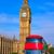 London · Großbritannien · rot · Bus · Uhr · Telefon - stock foto © lunamarina