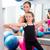 aerobik · kadın · personal · trainer · çocuklar · kız · istikrar - stok fotoğraf © lunamarina