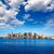 boston skyline with river sunlight massachusetts stock photo © lunamarina