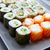 寿司 · カリフォルニア · ロール · 白 · 魚 · キッチン - ストックフォト © lunamarina