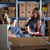 femme · d'affaires · séance · bureau · portable · téléphone · papier - photo stock © lunamarina