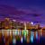 オーランド · スカイライン · 日没 · 湖 · フロリダ · 米国 - ストックフォト © lunamarina