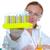 kimyasal · laboratuvar · bilim · adamı · kadın · cam - stok fotoğraf © lunamarina