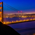San · Francisco · Golden · Gate · Bridge · puesta · de · sol · California · EUA · cielo - foto stock © lunamarina