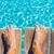 homokos · láb · móló · trópusi · türkiz · tenger - stock fotó © lunamarina
