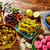漬物 · オリーブ · タマネギ · ニンジン · ホット · 唐辛子 - ストックフォト © lunamarina