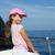 ребенка · счастливая · девушка · парусного · счастливым · лодка · Cap - Сток-фото © lunamarina