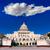 Bina · Washington · DC · amerikan · bayrağı · ABD · kongre · ev - stok fotoğraf © lunamarina
