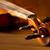 klassiek · muziek · viool · vintage · houten · gouden - stockfoto © lunamarina