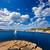 белый · побережье · парусника · парусного · Средиземное · море · морем - Сток-фото © lunamarina