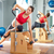 zwangere · vrouw · pilates · kant · oefening · stoel · gymnasium - stockfoto © lunamarina