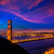 coucher · du · soleil · pont · San · Francisco · Skyline · Californie · vue - photo stock © lunamarina