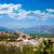 村 · スペイン · 市 · 太陽 · 山 · 青 - ストックフォト © lunamarina