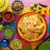 tortilla · chips · hortalizas · nachos · queso · caliente - foto stock © lunamarina