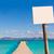 Mallorca Platja de Alcudia beach pier in Majorca  stock photo © lunamarina