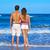 yürüyüş · kum · plaj · adam - stok fotoğraf © lunamarina