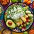 чаши · плоская · маисовая · лепешка · чипов · Ингредиенты · продовольствие - Сток-фото © lunamarina