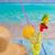 lemon lime cocktail mojito on tropical beach stock photo © lunamarina