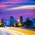 centrum · Houston · Texas · noc · dość · miejskich - zdjęcia stock © lunamarina