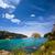 Cala Macarella Menorca turquoise Balearic Mediterranean stock photo © lunamarina