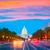 gebouw · Washington · DC · zonsondergang · congres · USA · hemel - stockfoto © lunamarina