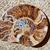 fóssil · caracol · cortar · textura · natureza · fundo - foto stock © lunamarina