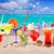 alcool · cocktails · turquoise · eau · alimentaire - photo stock © lunamarina